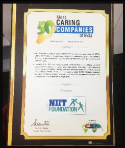 """Most Caring Company Award"" 2015"